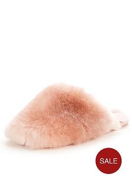 ted-baker-hawleth-fluffy-slipper-mule-light-pink
