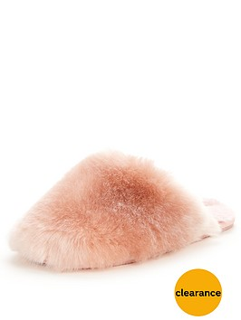 ted-baker-hawleth-fluffy-slipper-mule-light-pink