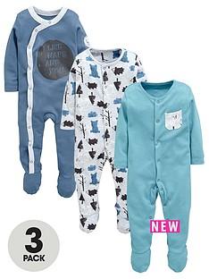 ladybird-baby-boys-3pk-sleepsuits