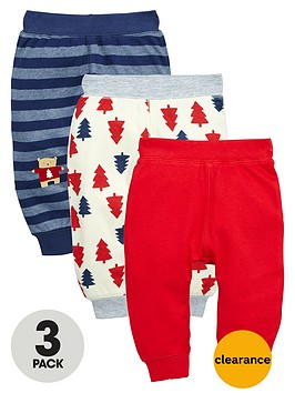 ladybird-baby-boys-jersey-christmas-joggers-3-pack