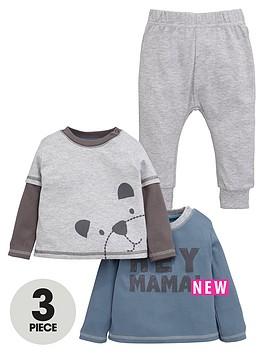 ladybird-baby-boys-2pk-tshirts-amp-skinny-jogger-set