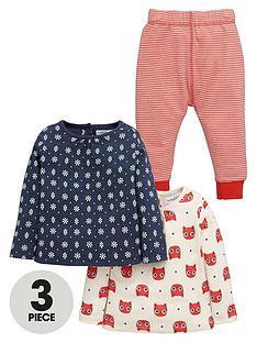 ladybird-baby-girls-printed-t-shirts-and-leggings-set-3-piece