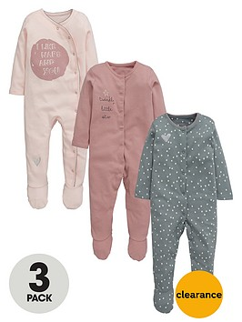 ladybird-baby-girls-fashion-sleepsuitsnbsp3-pack