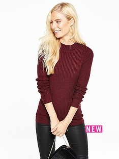 v-by-very-long-sleeve-twist-yarn-turtle-neck-jumper