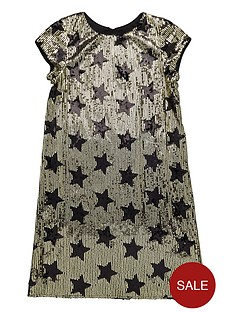 v-by-very-girls-sequined-star-shift-dress
