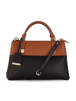 wallis-wallis-colourblock-3-tripple-compartment-bag