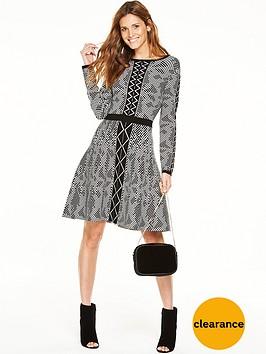 v-by-very-geometric-jacquardnbspknitted-skater-dress