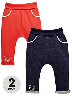 ladybird-baby-girls-loopbacknbspjoggers-2-pack