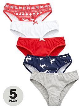 v-by-very-girls-christmas-briefs-5-pack