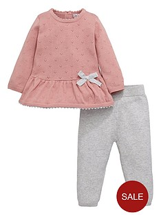 ladybird-baby-girls-knitted-top-and-joggers-twosienbspset