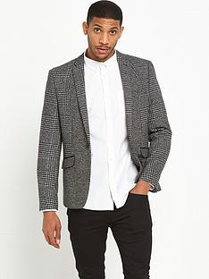 river-island-skinny-fit-check-blazer