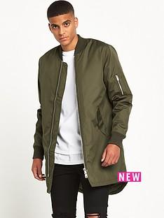 river-island-longline-bomber-jacket