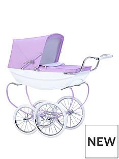 silver-cross-oberon-sparkle-purple-dolls-pram