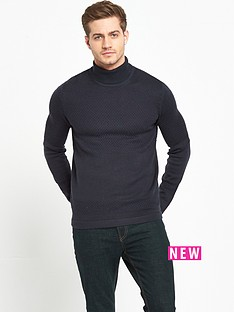 selected-homme-roll-neck-jumper