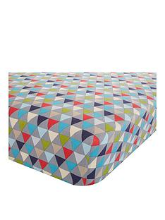 catherine-lansfield-geo-fitted-sheet
