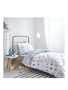 bianca-cottonsoft-woodland-animals-single-duvet-cover-set