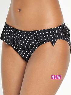 pour-moi-hot-spots-frill-bikini-brief