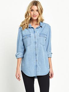 superdry-oversized-denim-shirt-sky-slub-blue