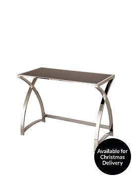 glass-and-chrome-desk