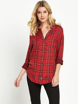 superdry-double-cloth-checked-shirt-malvern-check-red