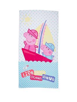 peppa-pig-nautical-towel