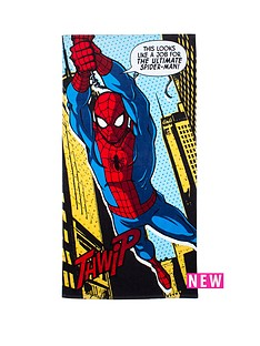 spiderman-spiderman-webhead-towel