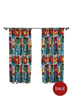 marvel-comic-strike-pleated-curtains
