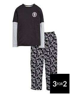 v-by-very-boys-skull-jersey-top-and-fleece-bottoms-pyjamasnbsp