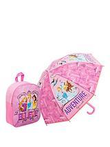 Disney Princess Backpack and Umbrella Set