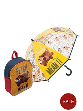 secret-life-of-pets-secret-life-of-pets-backpack-and-umbrella-set