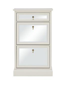 lauren-hallway-shoe-storage-with-mirrored-front--cream