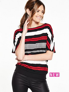 v-by-very-banded-hem-oversized-stripe-top