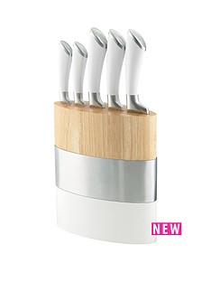 amefa-fusion-5-piece-knife-block