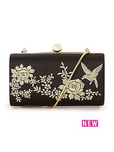 v-by-very-bird-embroidered-hard-clutch