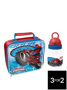 spiderman-ultimate-spiderman-lunchbag-amp-bottle-set