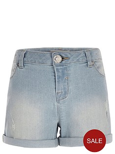 river-island-girls-light-denim-shorts