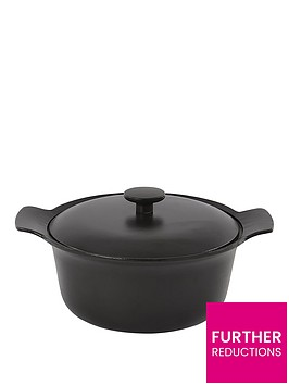 berghoff-ron-cast-iron-casserole-with-lid-24cm-black-pepper