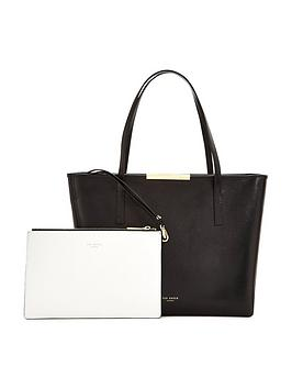 ted-baker-leather-colour-block-shopper