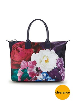 ted-baker-large-placement-print-floral-nylonnbsptote-bag