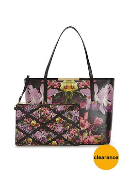 ted-baker-ted-baker-large-floral-print-amp-purse-pouch-shopper