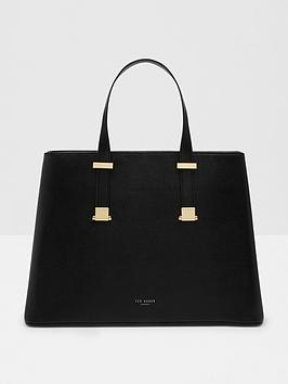 ted-baker-large-leather-structured-tote