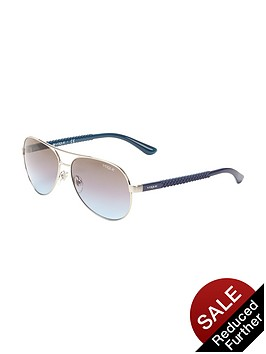 vogue-pilot-aviator-sunglasses-silver
