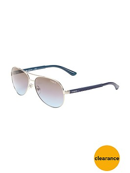 vogue-pilot-aviator-sunglasses-silver