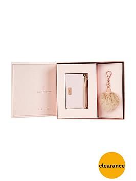 ted-baker-purse-amp-pom-pom-gift-set-nude-pink