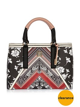 river-island-printed-floral-panel-tote