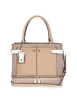 river-island-large-zip-bottom-tote-neutral