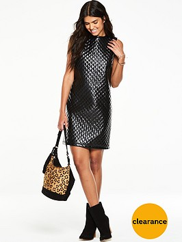v-by-very-cross-hatch-vinylnbsptunic-dress