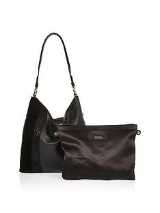 river-island-river-island-leather-amp-suede-stripe-slouch-bag