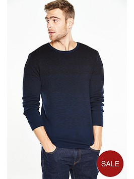 v-by-very-ombre-crew-neck-jumper