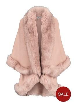 coast-kaite-faux-fur-cape